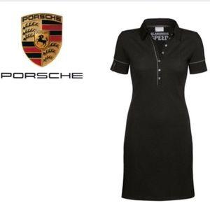 Porsche Polo Dress Swarovski Studs